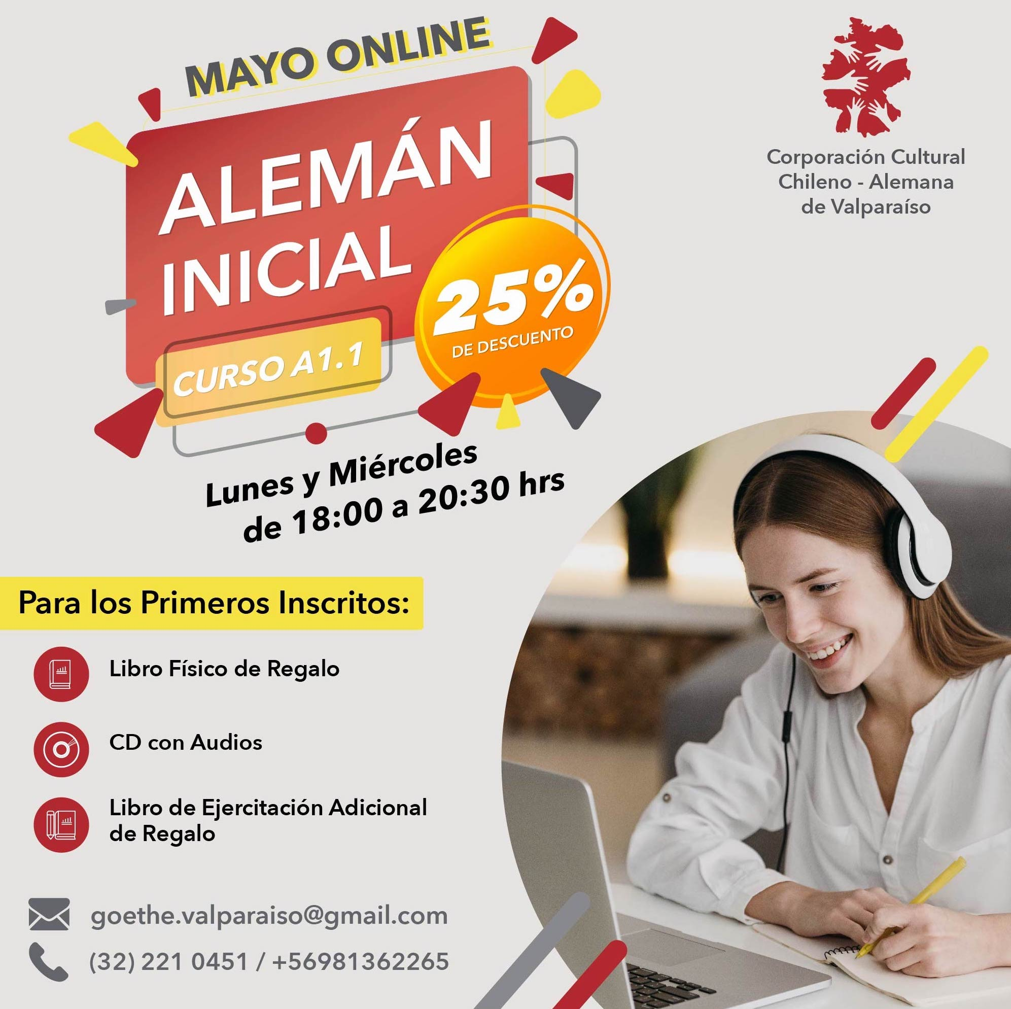 Curso Inicial A1.1 Mayo Online